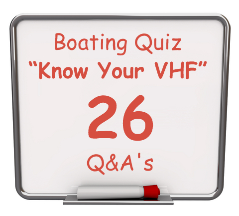 "Click here to take this FREE boating quiz called ""know your VHF""."